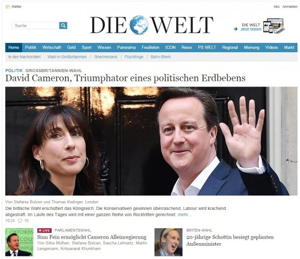 GE2015 Foreign press