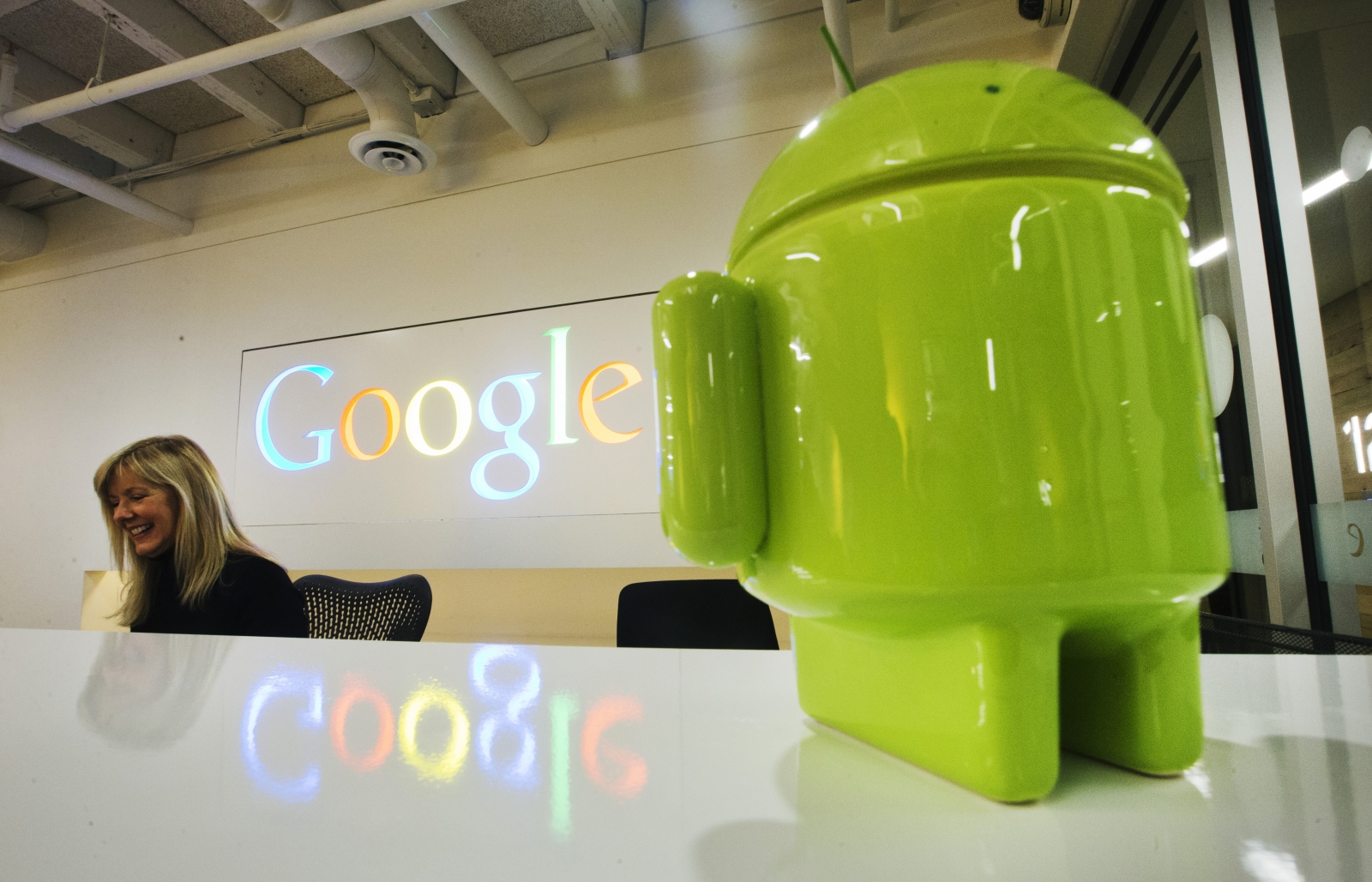 Google Android figurine