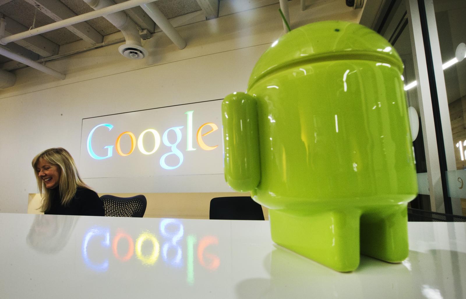 Google Android figurine
