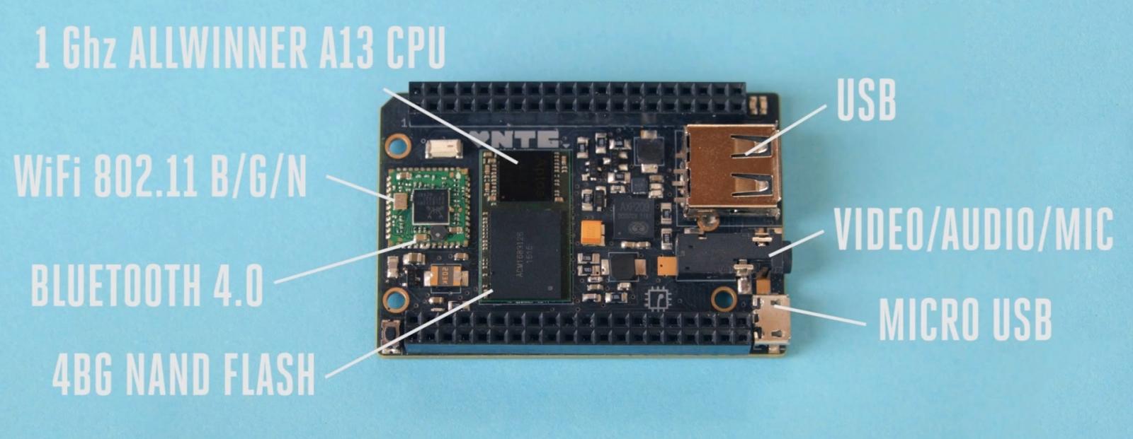 CHIP linux PC $9 computer