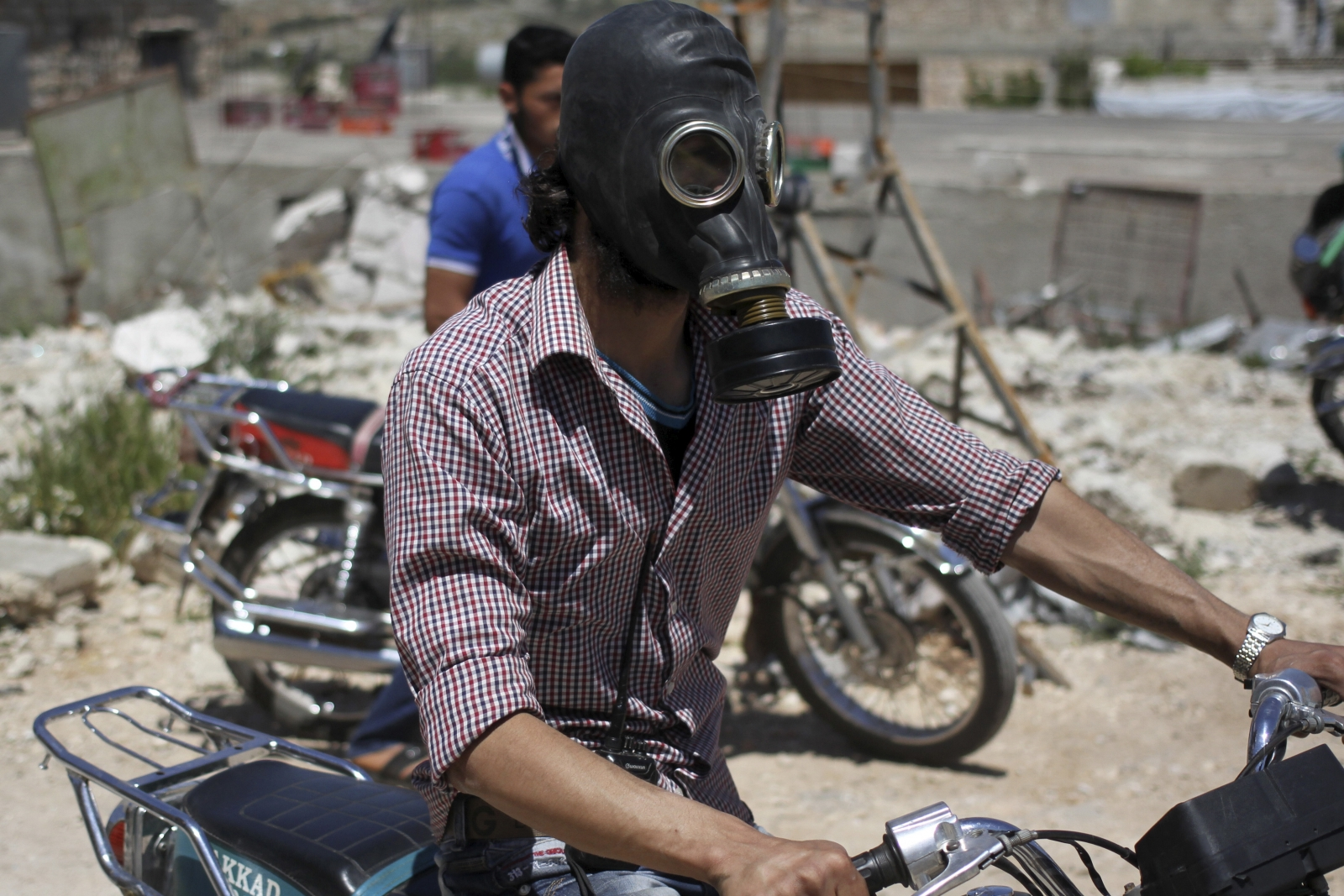 Syria chlorine gas attack