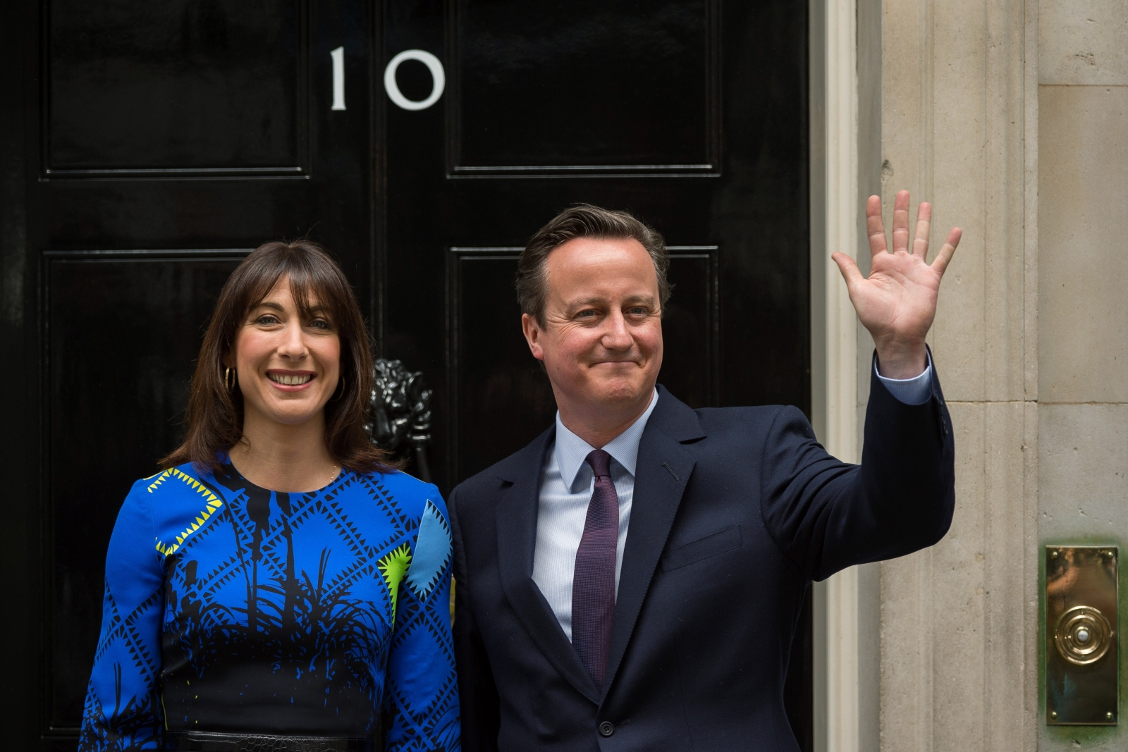 Election 2015 Samantha Cameron S Re Entry To Number 10