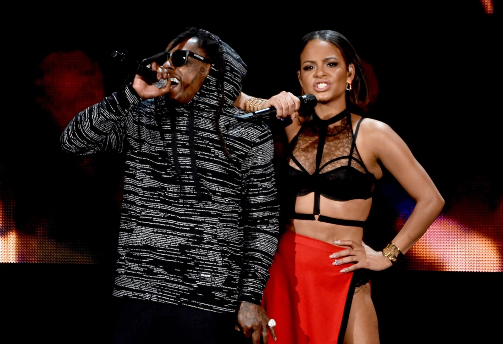 Christina Milian and Lil Wayne