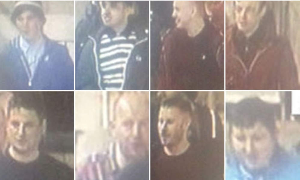 Men wanted from Leeds-Bradford train