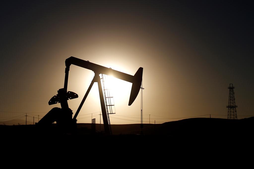Crude Oil Pump Jack
