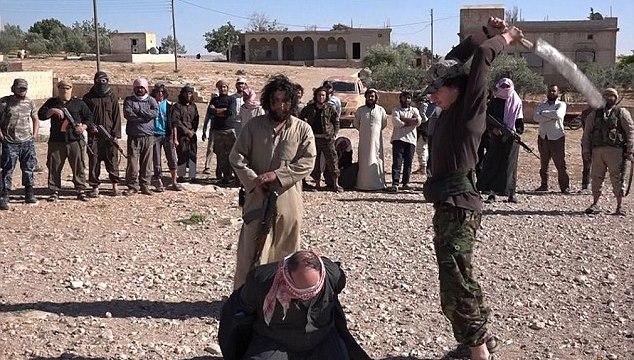 Isis beheading video Homs