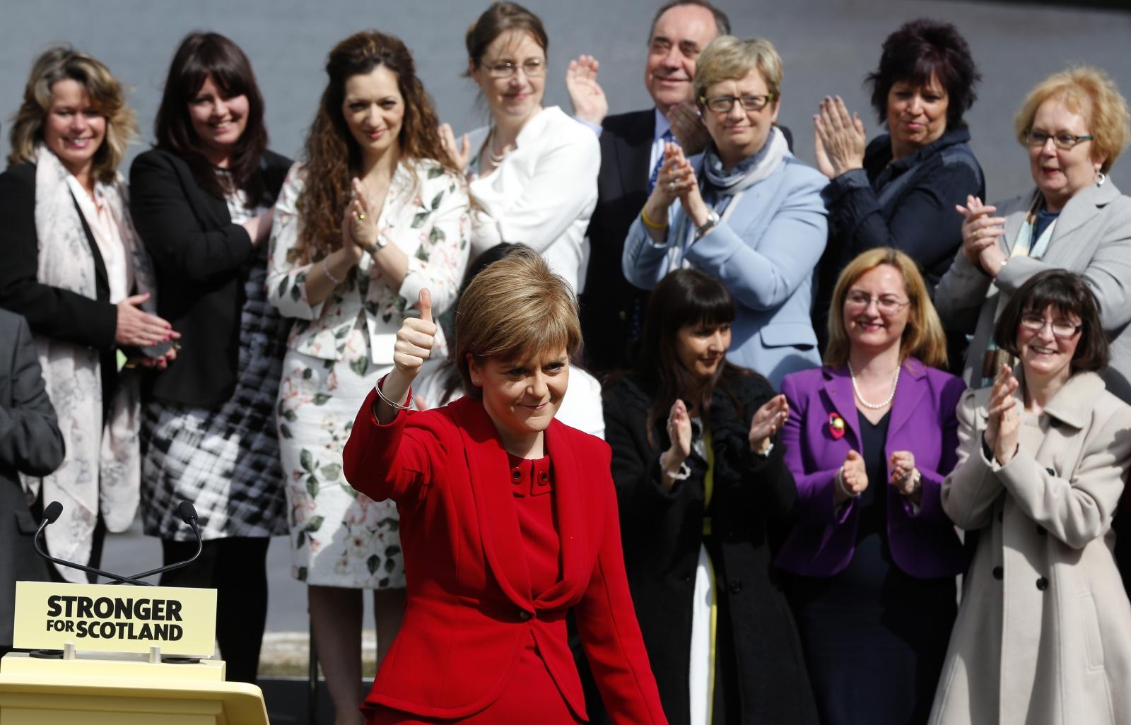 Nicola Sturgeon unveils 56 MPs