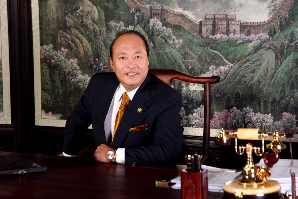 Generous boss Li Jinyuan