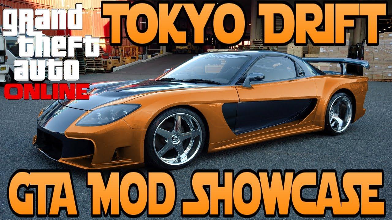 GTA 5 Tokyo Drift Mod