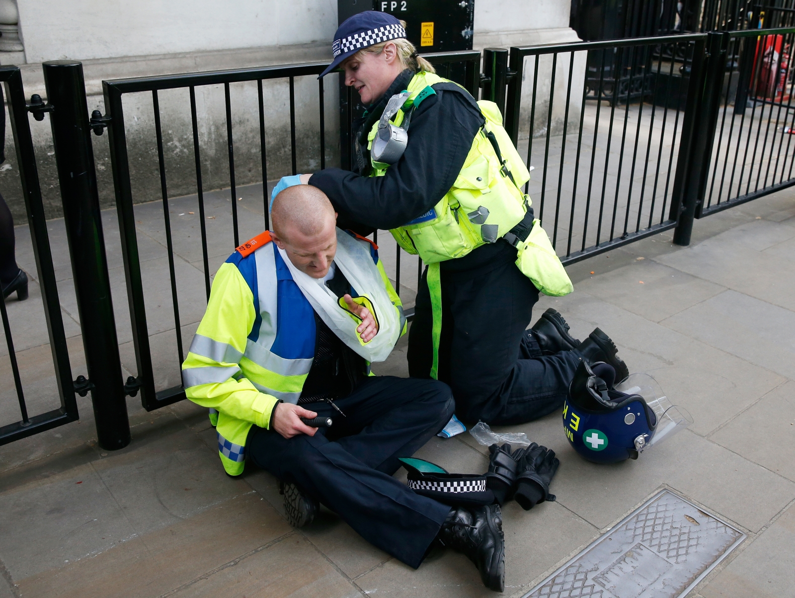 Police officer injured