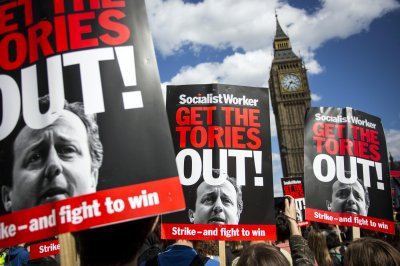 Anti-austerity Protest Downing Street 06