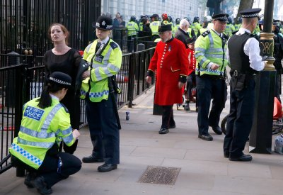 Anti-austerity Protest Downing Street 12