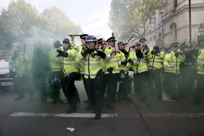 Anti-austerity Protest Downing Street 13