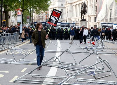 Anti-austerity Protest Downing Street 14
