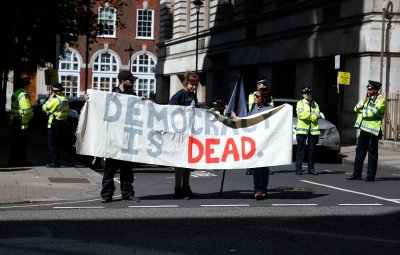Anti-austerity Protest Downing Street 20