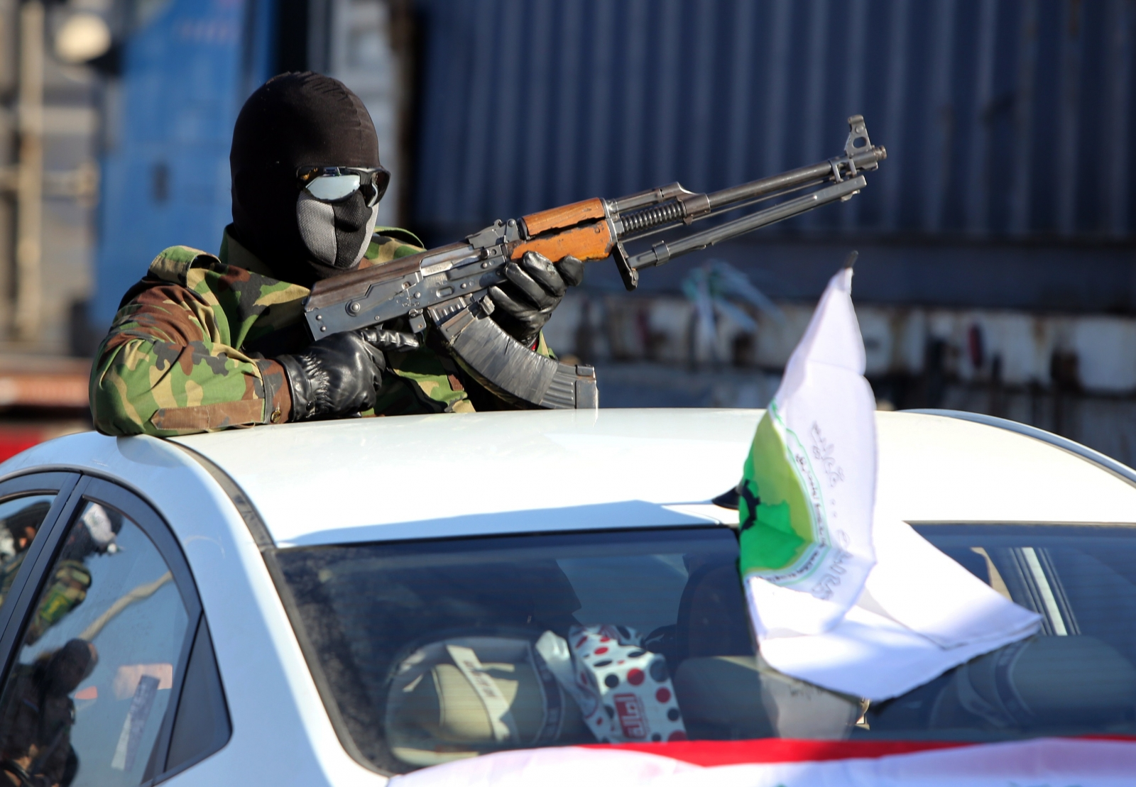 Shia militant in Khalis