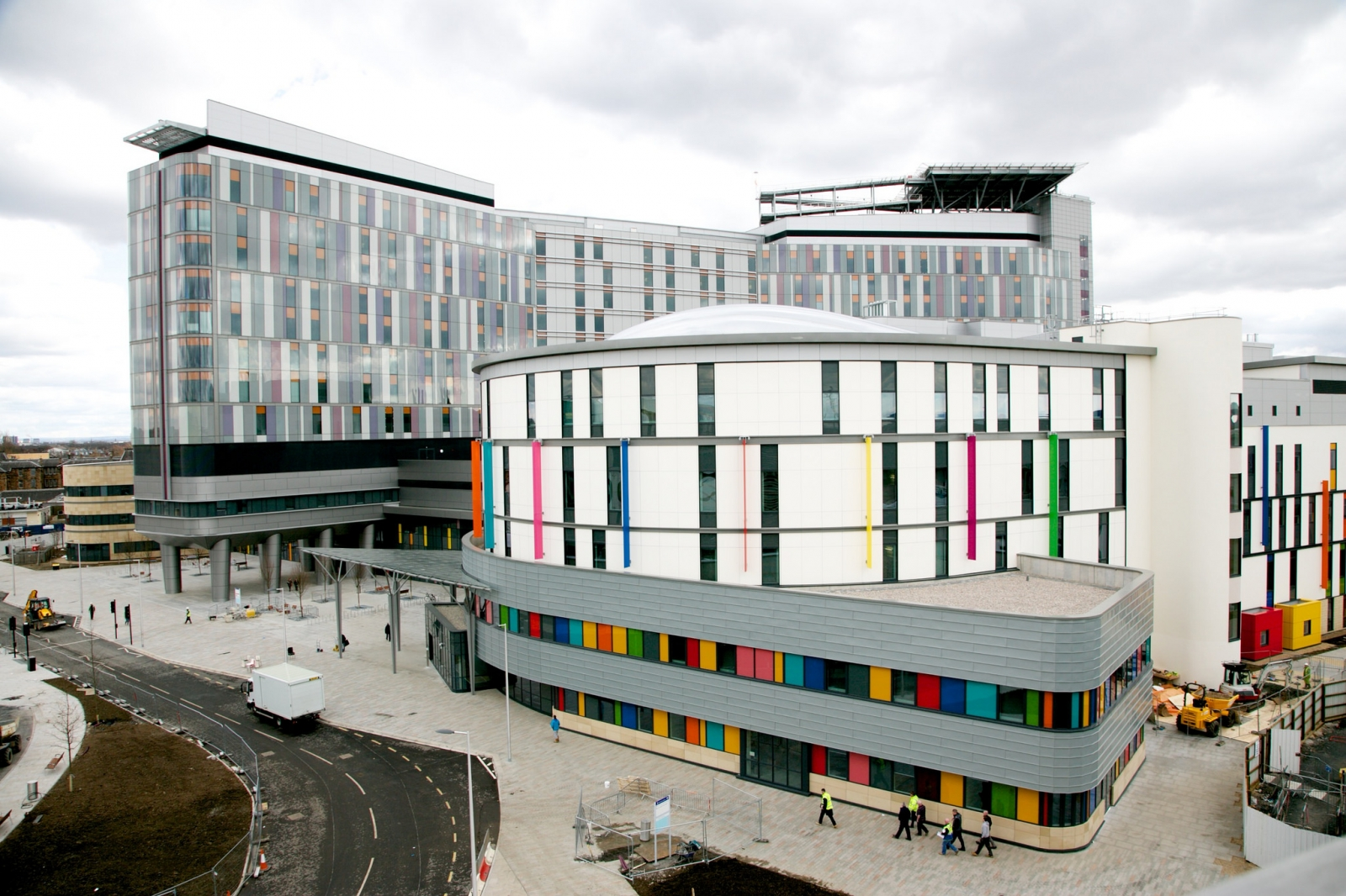 Visitors To Hi Tech 163 1bn Glasgow Hospital Keep Getting