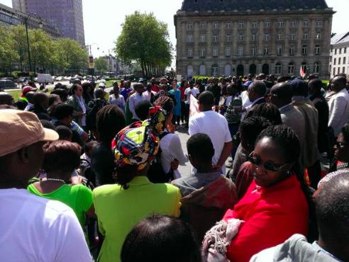 Brussels Burundi march