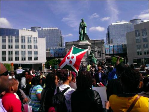 Burundi March Brussels