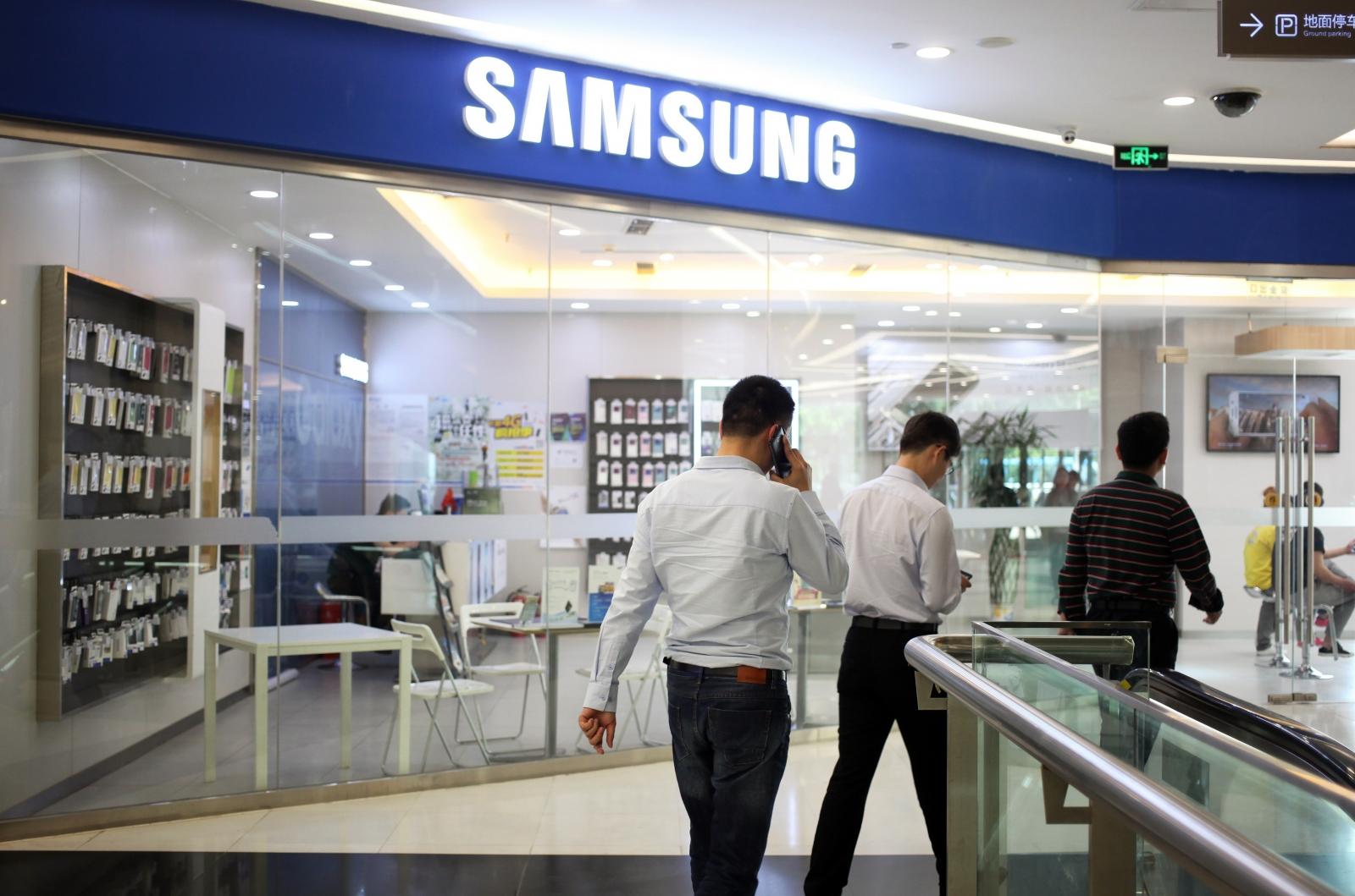 Samsung Chinese market share