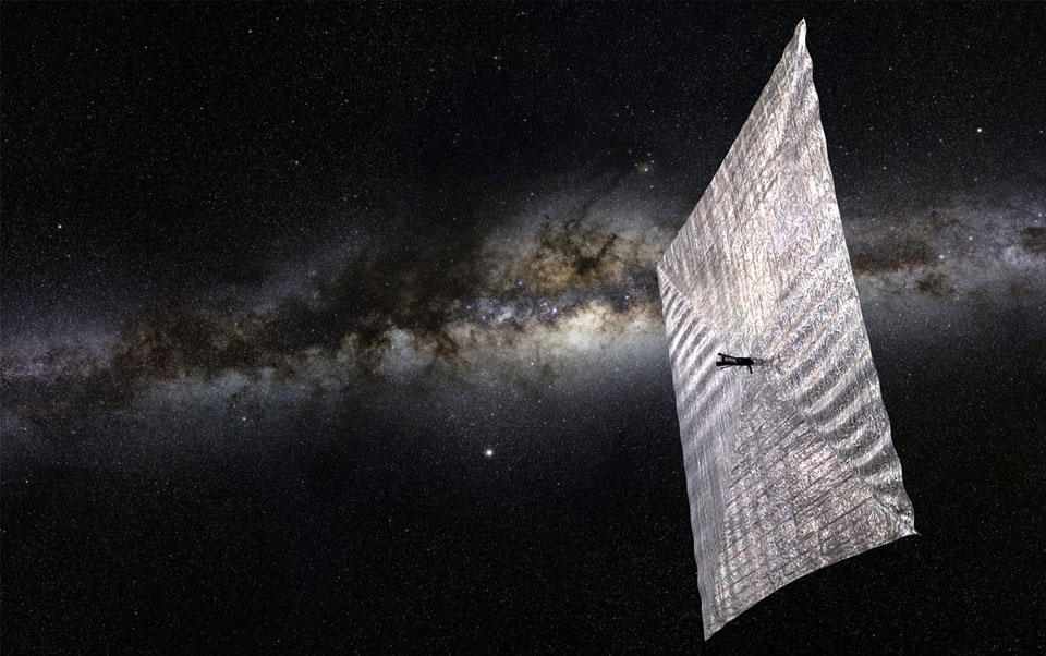 lightsail carl sagan solar space