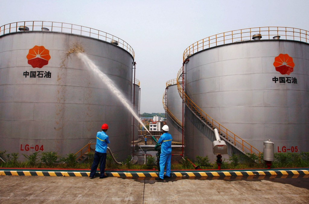 Petrochina Oil Storage Tanks