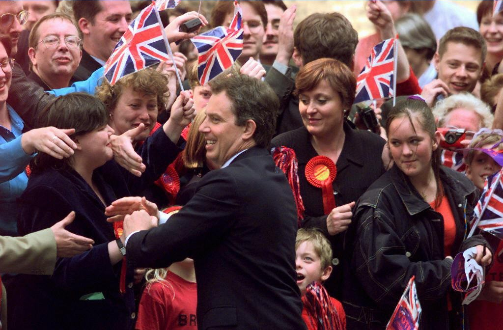 Tony Blair Labour election 1997