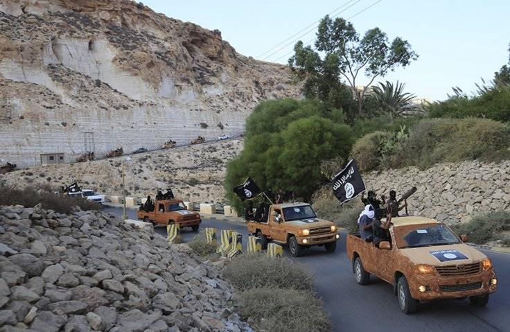 Islamic State Libya Derna