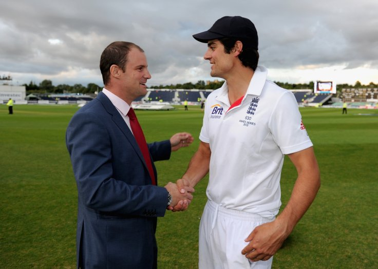 Andrew Strauss and Alastair Cook