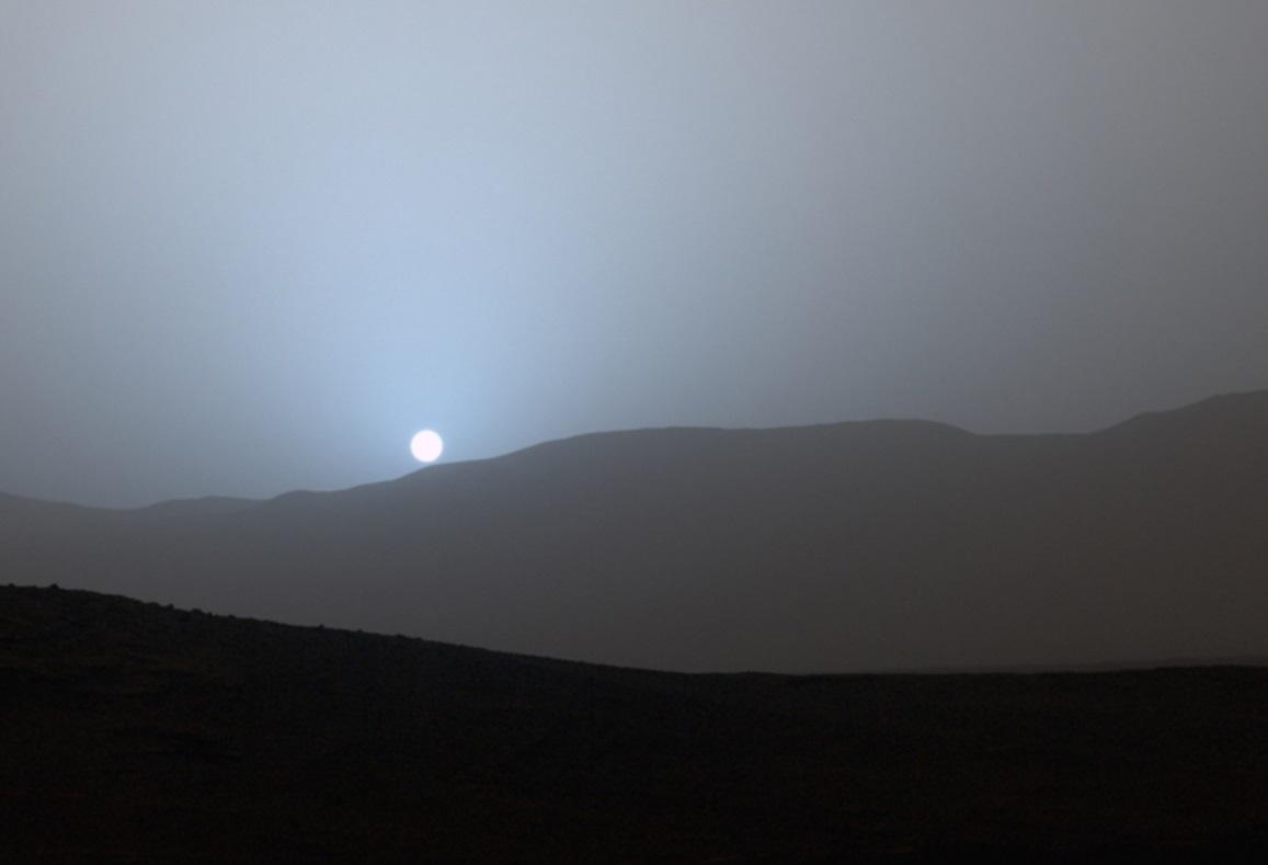 mars sunset rover - photo #23
