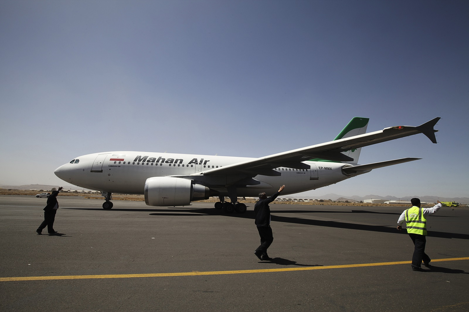 Mahan Iranian airlines 'breaks sanctions'