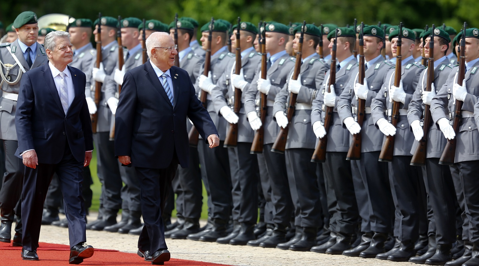 Reuven Rivlin in Berlin