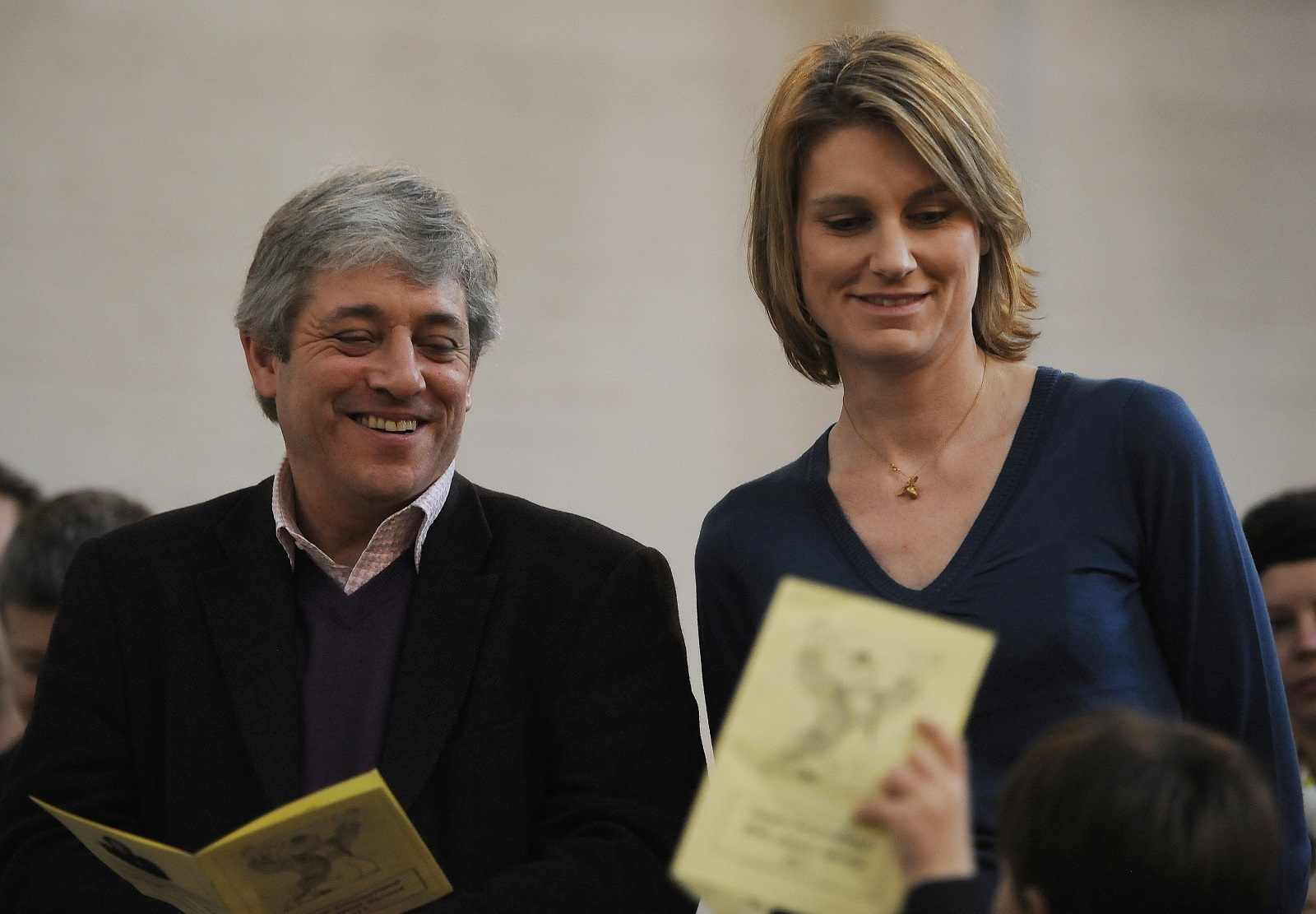 Sally and John Bercow