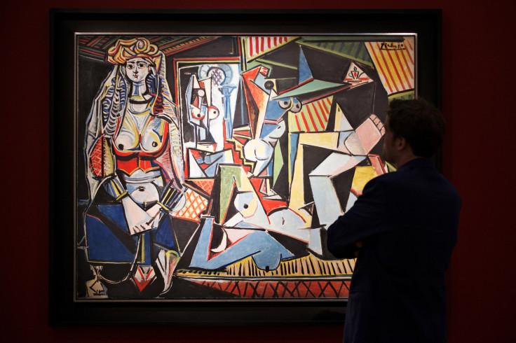 Les Femmes d'Alger by Picasso