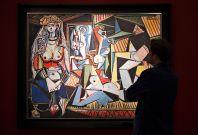 Les Femmes d\'Alger by Picasso