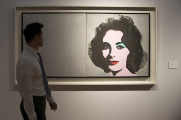 Andy Warhol's Silver Liz sold for $25m