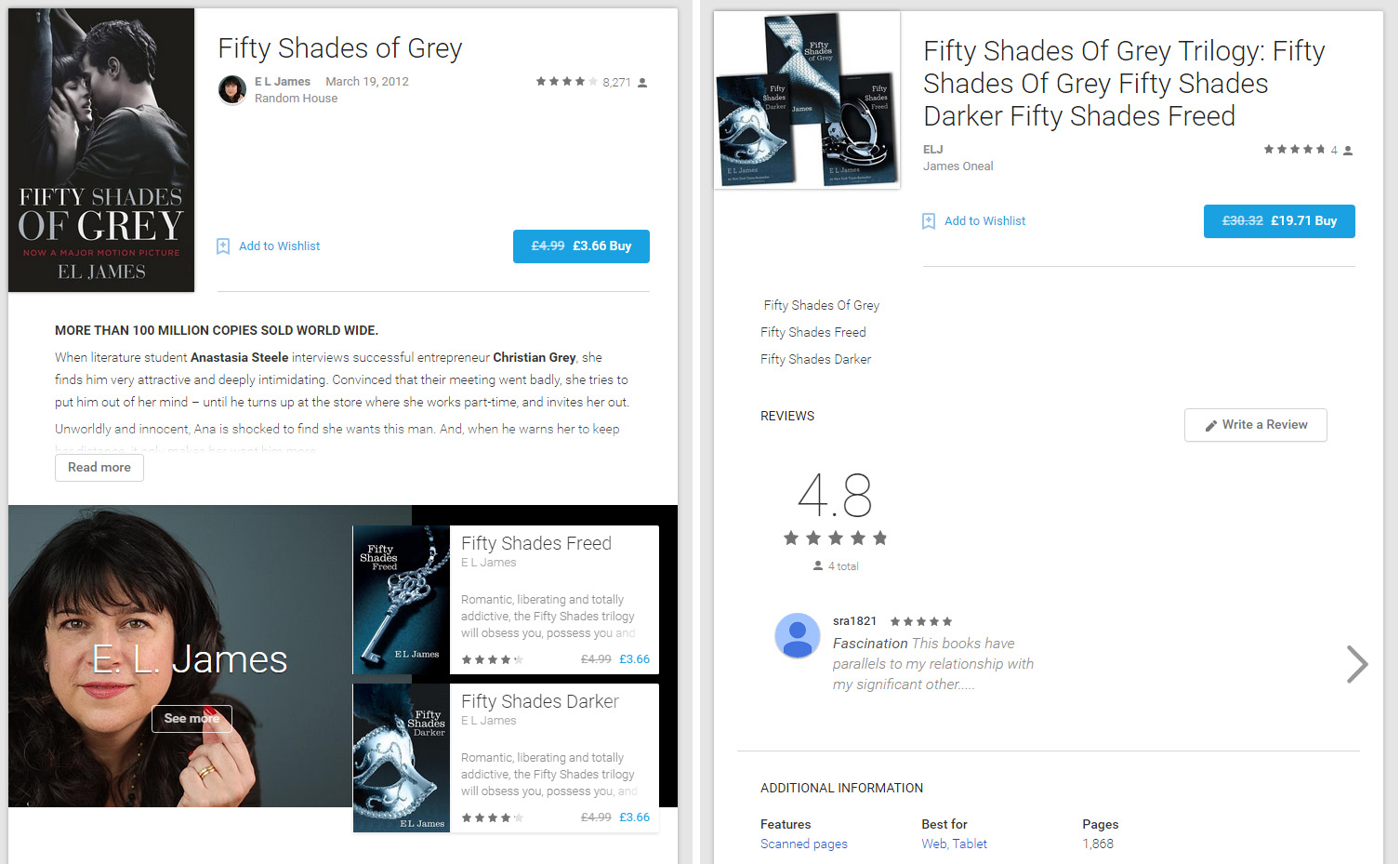 Real vs Fake eBooks on Google Play