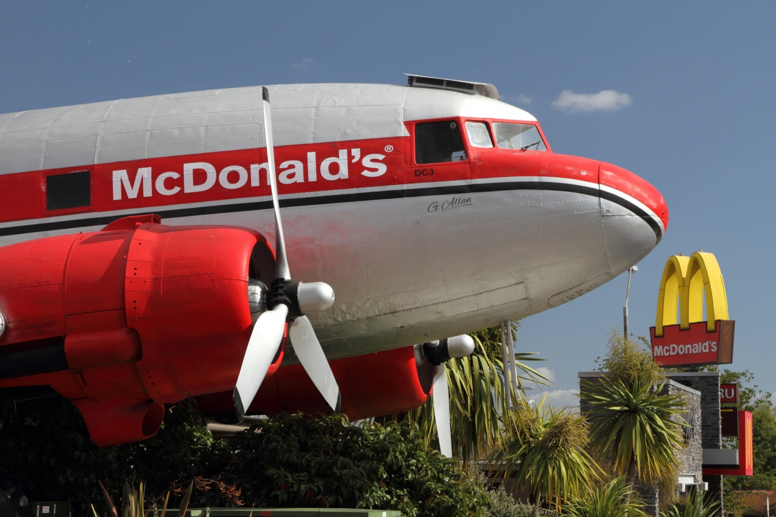 McDonald's plane
