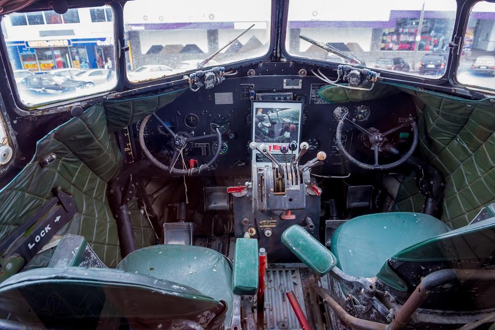 McDonald's plane cockpit