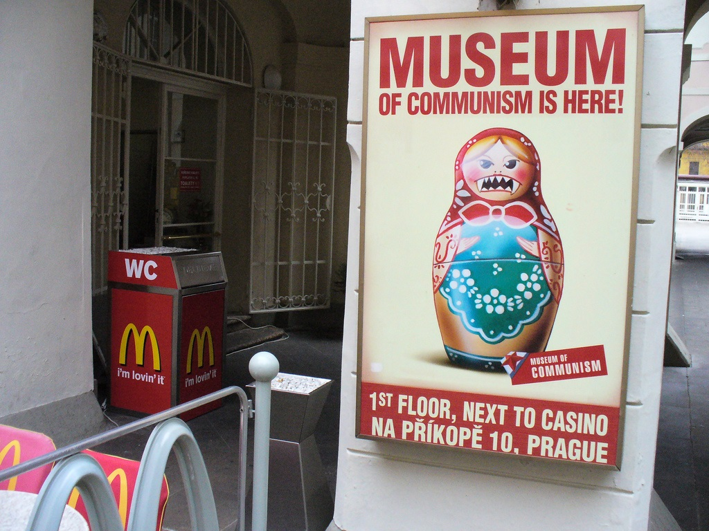 museum of communism mcdonalds prague