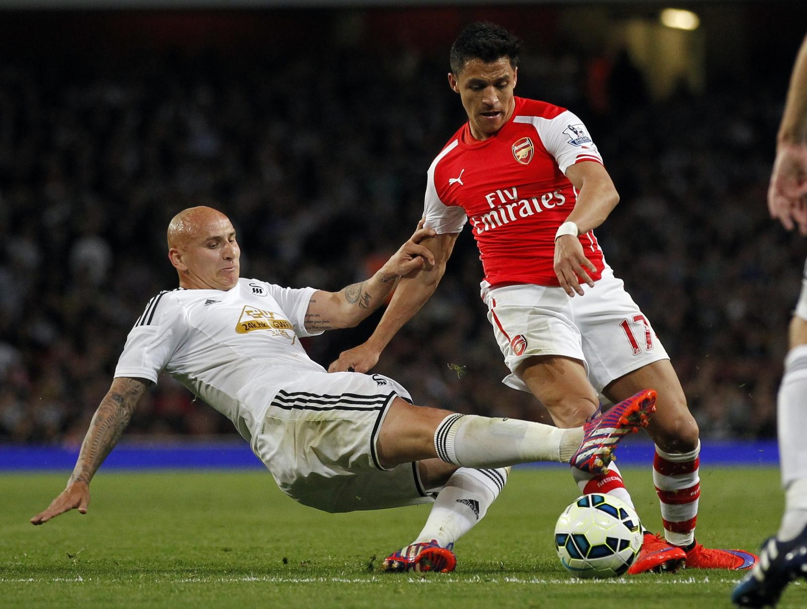 Arsenal Swansea Sanchez Shelvey