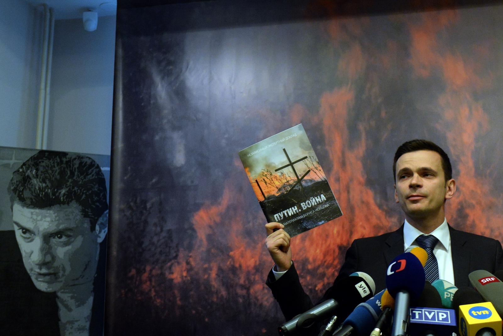 Nemtsov east Ukraine report