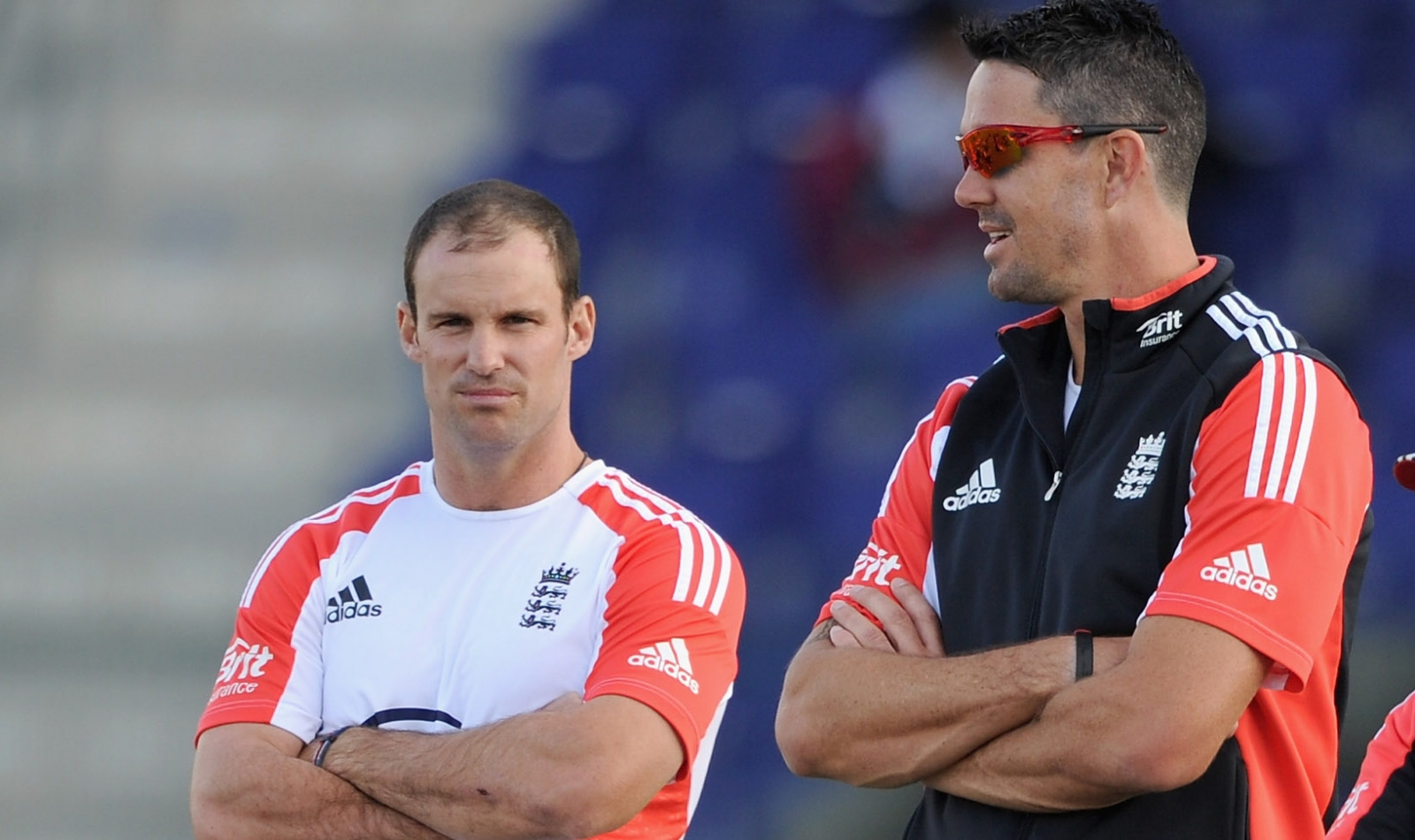 Andrew Strauss and Kevin Pietersen