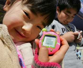 Tamagotchis were hugely popular in the 1990s