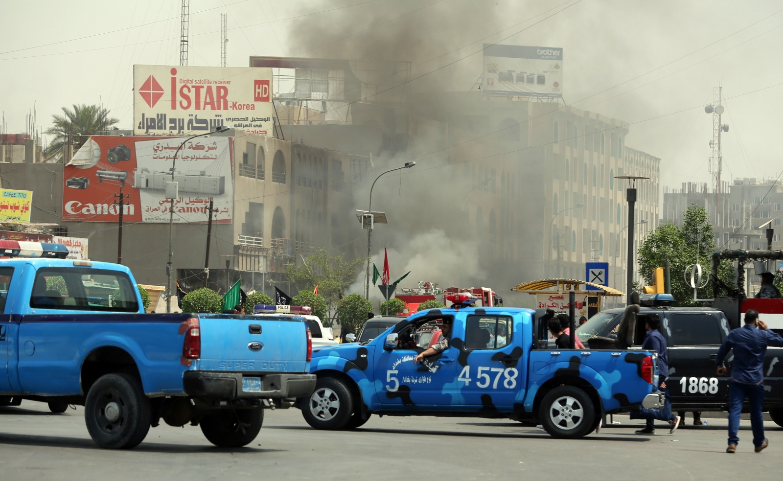 May 9 bombing in Baghdad