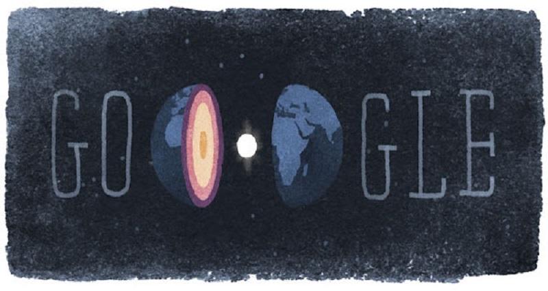Google Doodle for Inge Lehmann