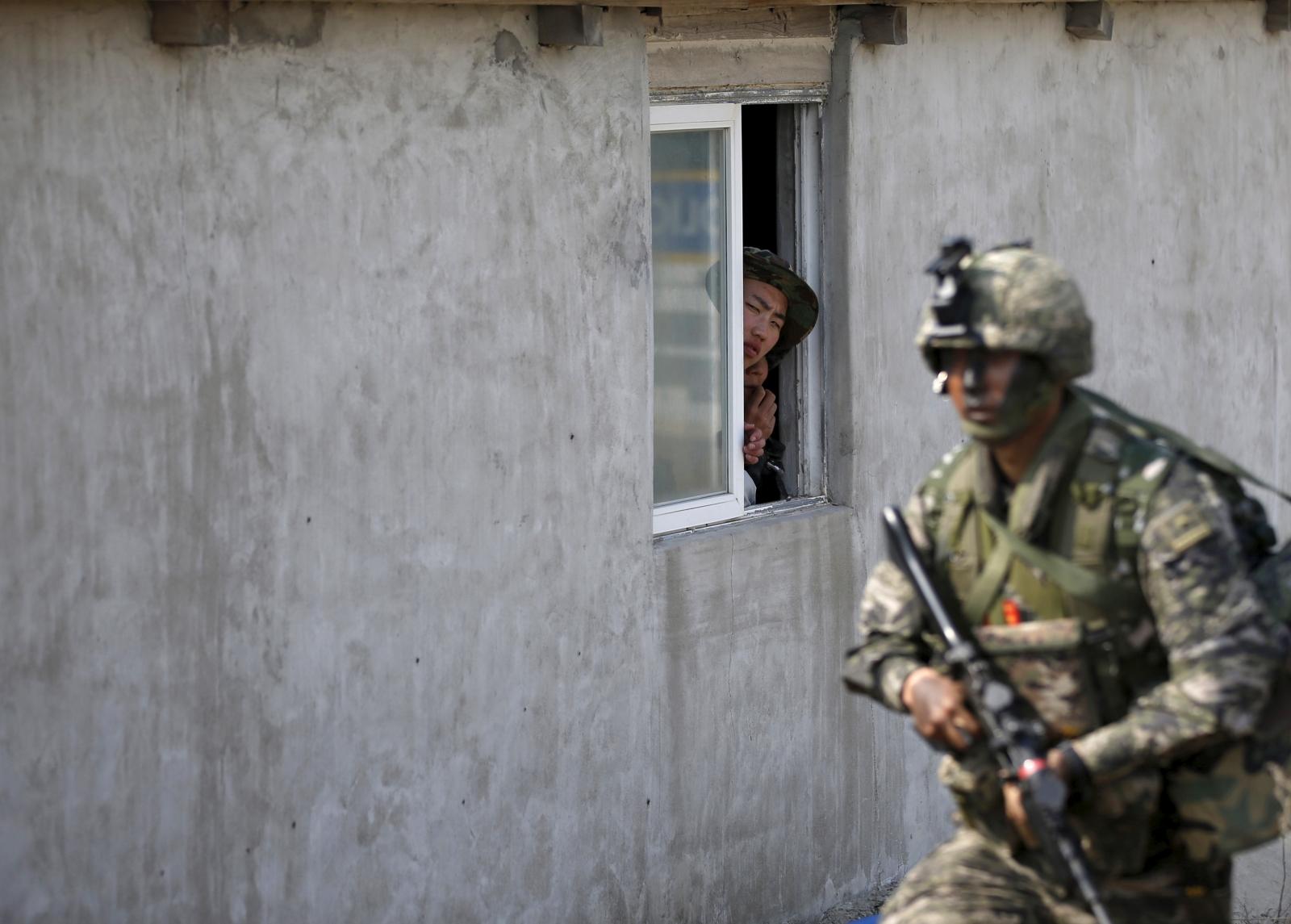 South Korea rogue soldier