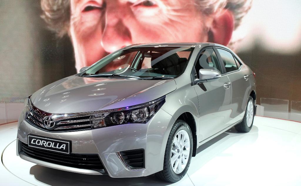 Toyota Motor's Corolla Sedan
