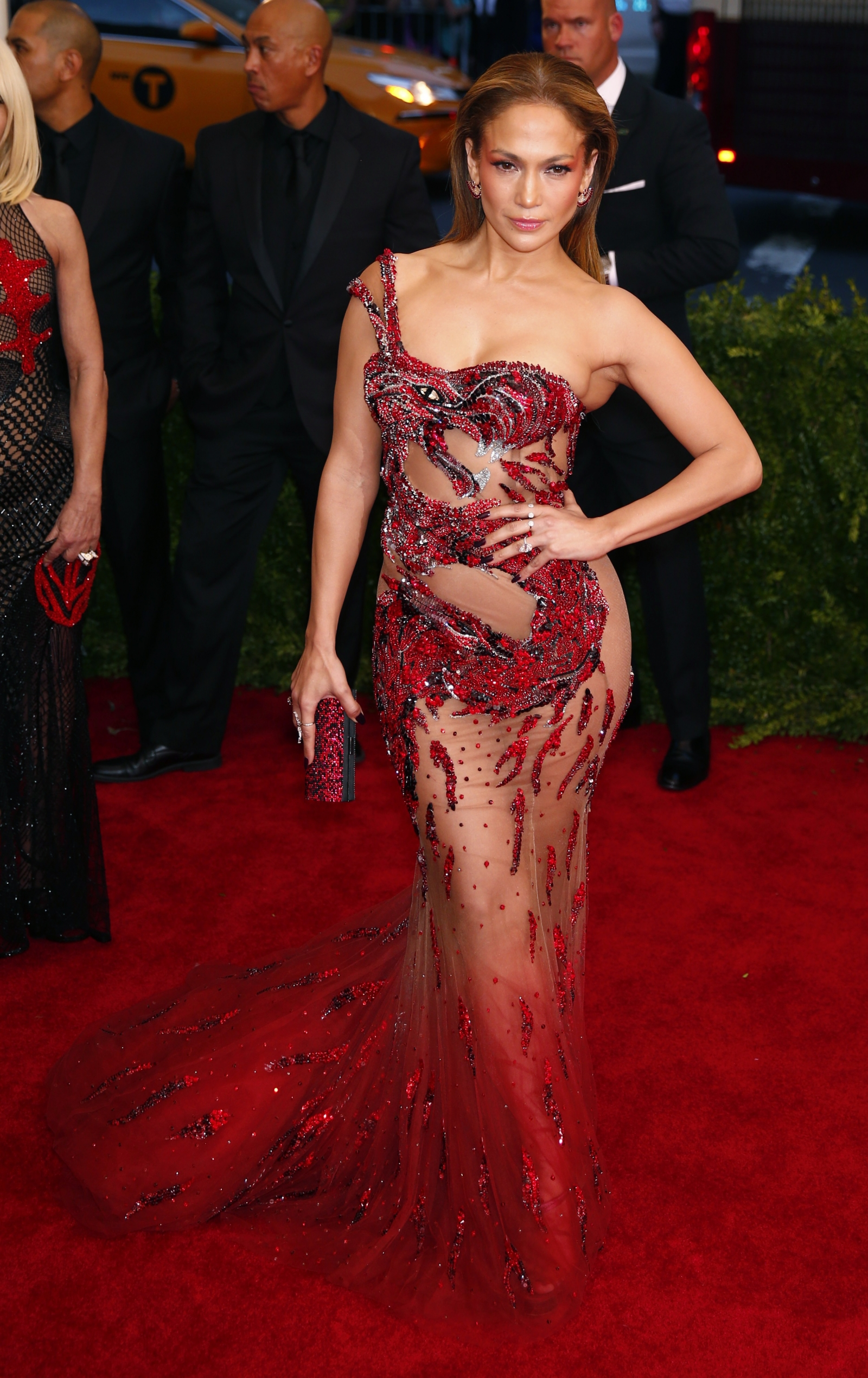 Jennifer Lopez at the Met Gala 2015
