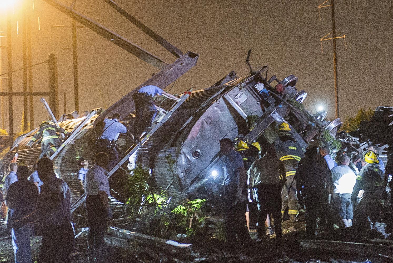 Philadelphia Amtrack derailment